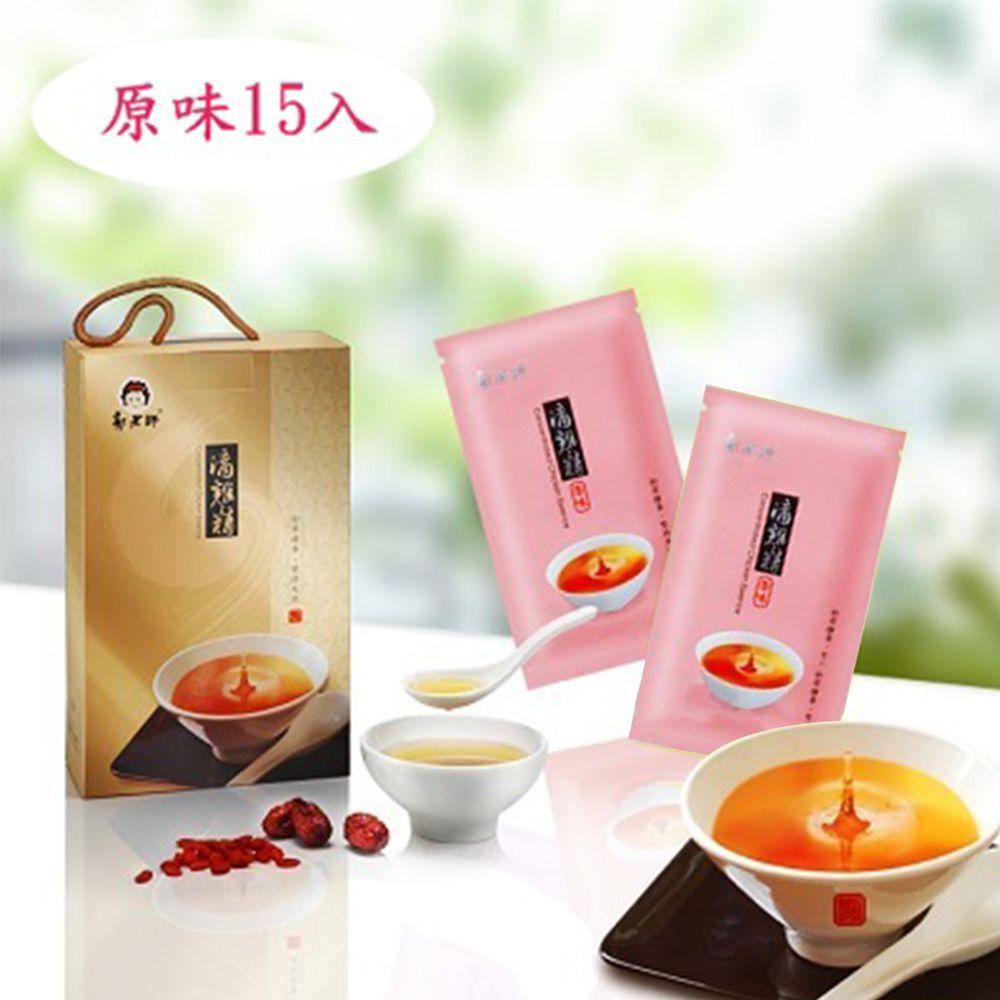 郭老師養生料理 - 含運組-(冷凍)原味滴雞精(大盒/15入)-80cc/包
