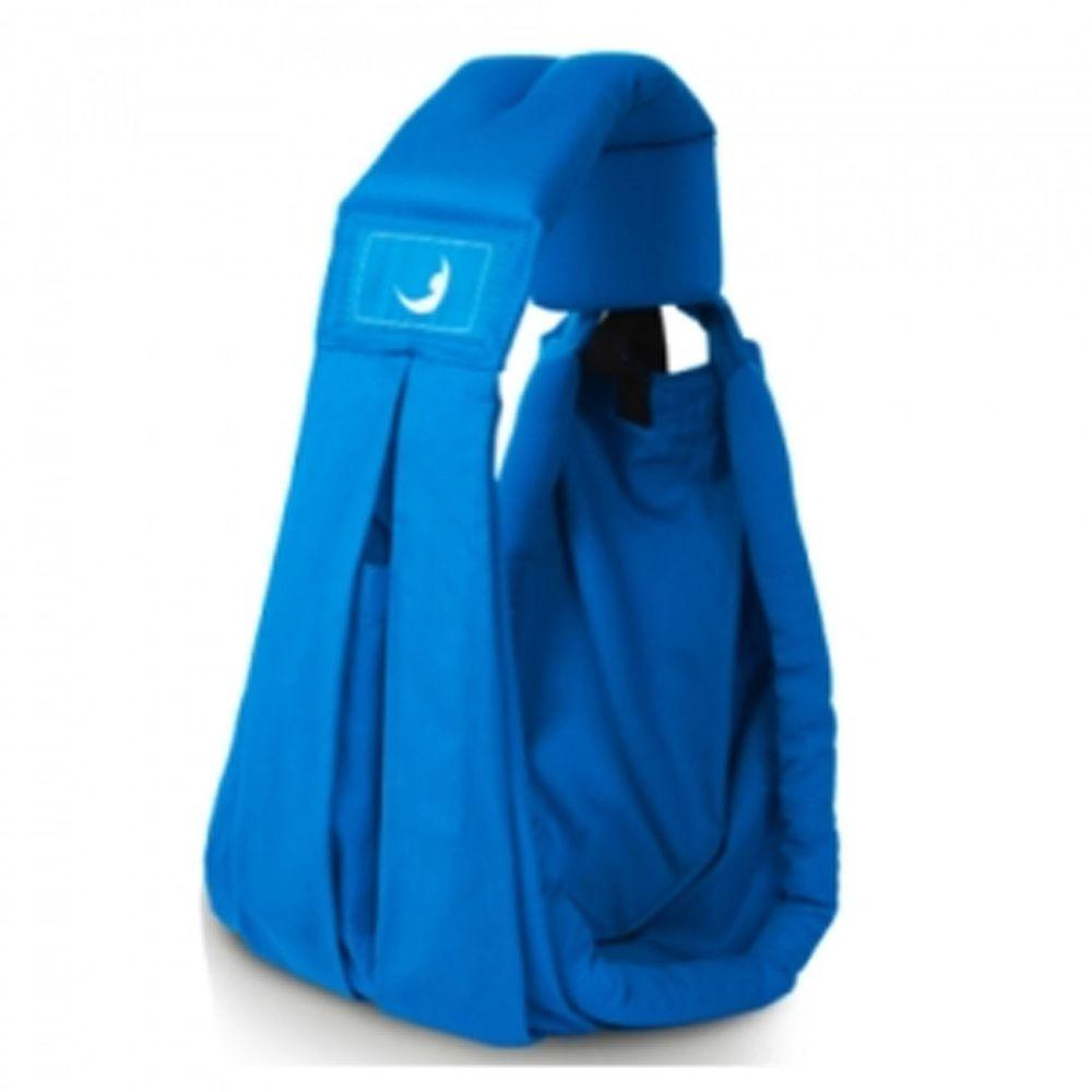 英國the BabaSling - 新生兒抱嬰揹巾/揹帶(3.5-15kg)-輕盈版-藍綠色