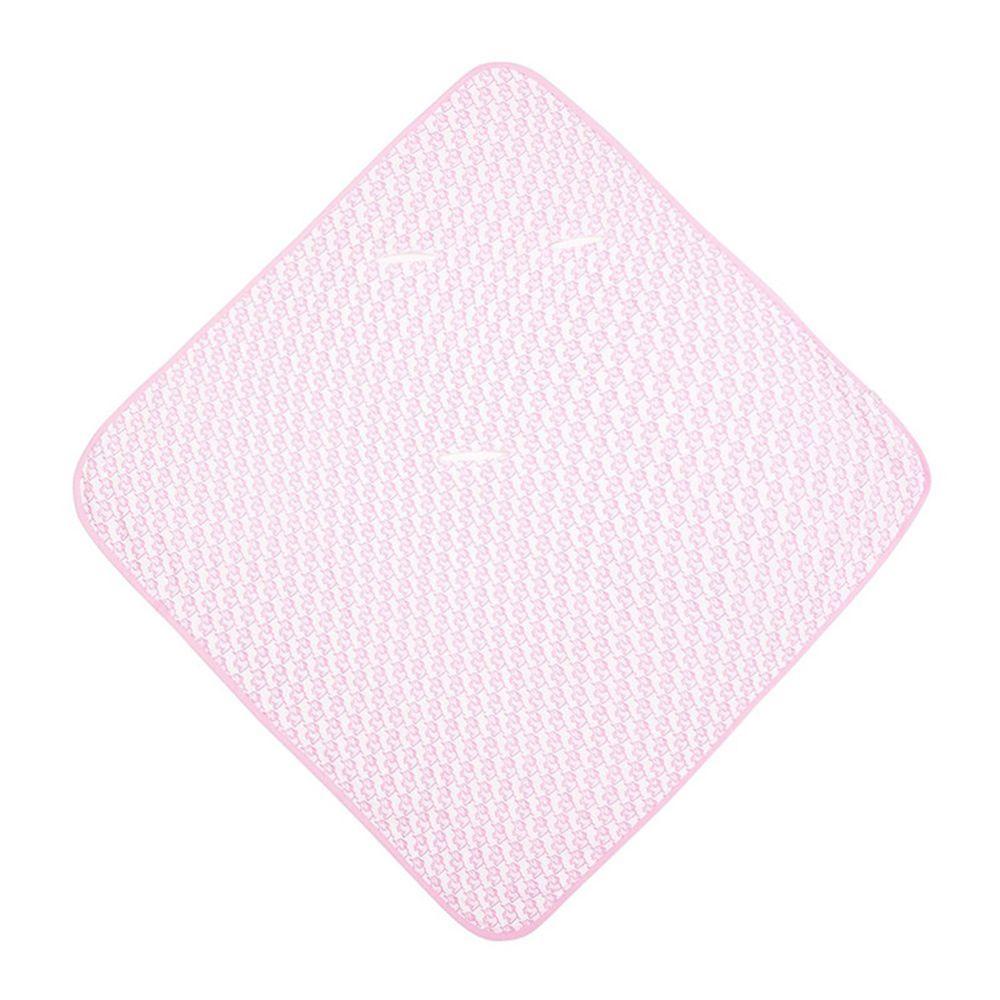 英國 JoJo Maman BeBe - 100%純棉可愛大象多功能小薄被/純棉毯-甜蜜粉
