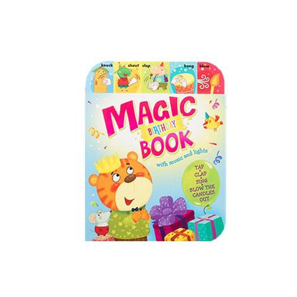 閃爍燈火系列有聲書-Magic Birthday Book