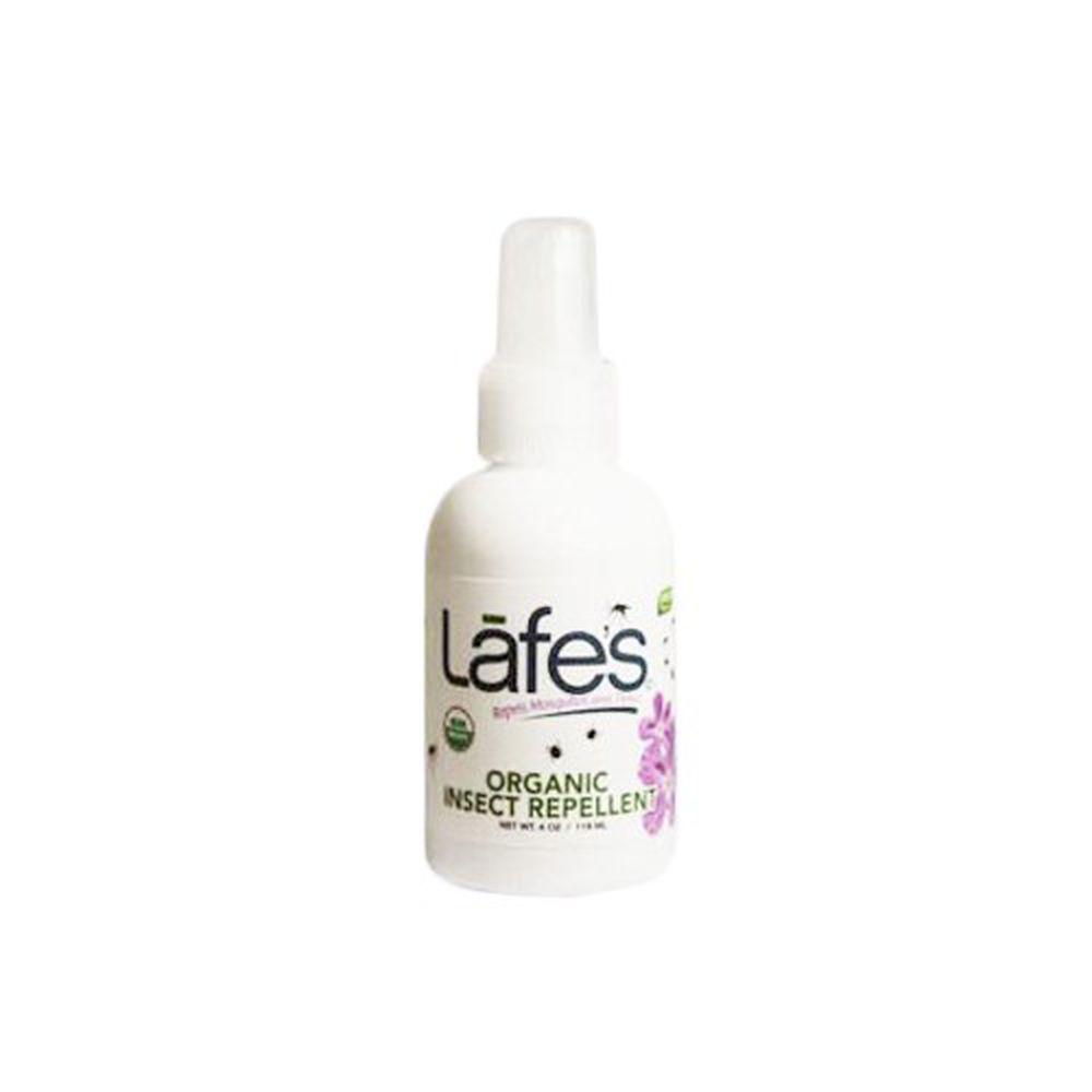 美國 Lafe's organic - 有機全家防蚊液-118ml