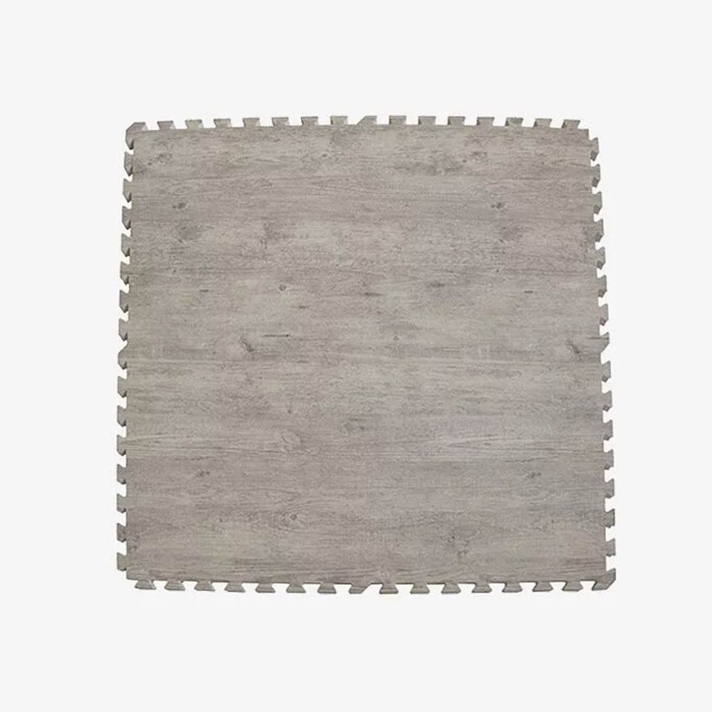 Pato.Pato - EVA巧拼地墊-自然系木紋色地墊-淺木紋 (100*100*2CM)-6片(附贈邊條*24)