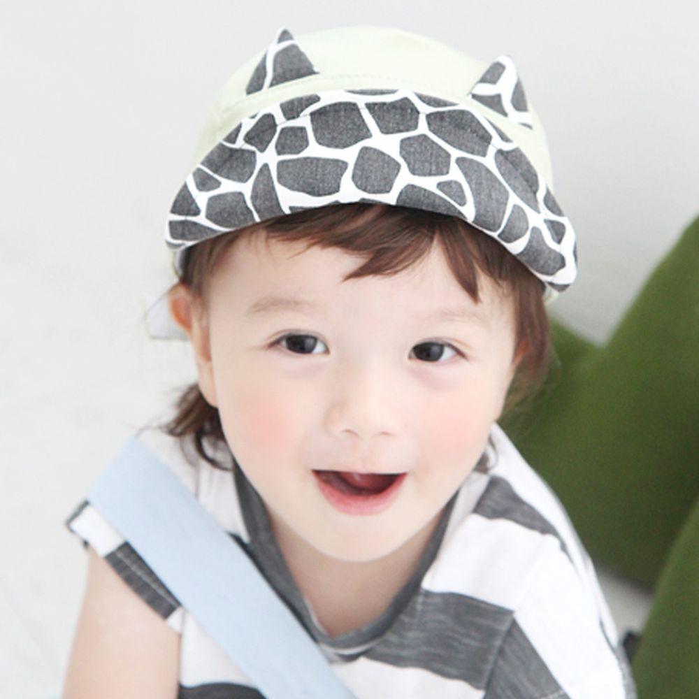 韓國 Babyblee - 挖洞乳牛棒球帽-淺綠 (頭圍:49-54cm)