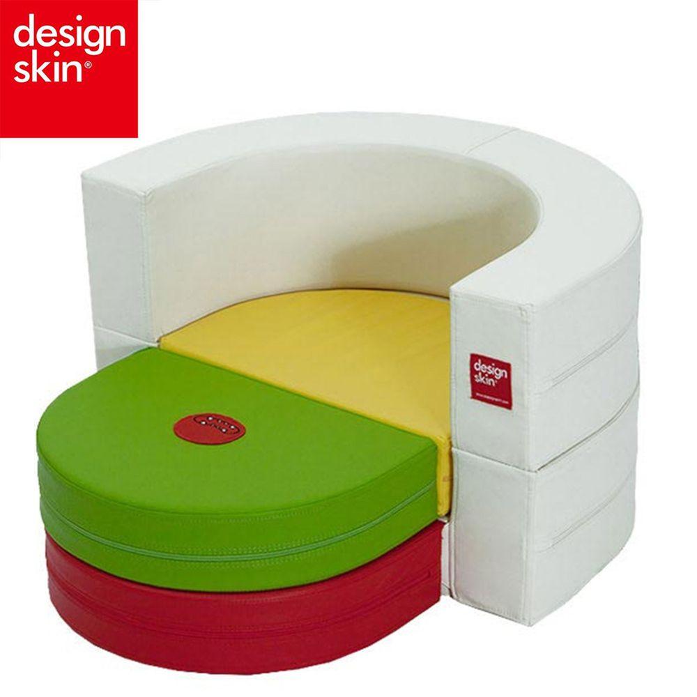 Design Skin - 圓形蛋糕沙發(變形球池樂園) (贈貼紙)