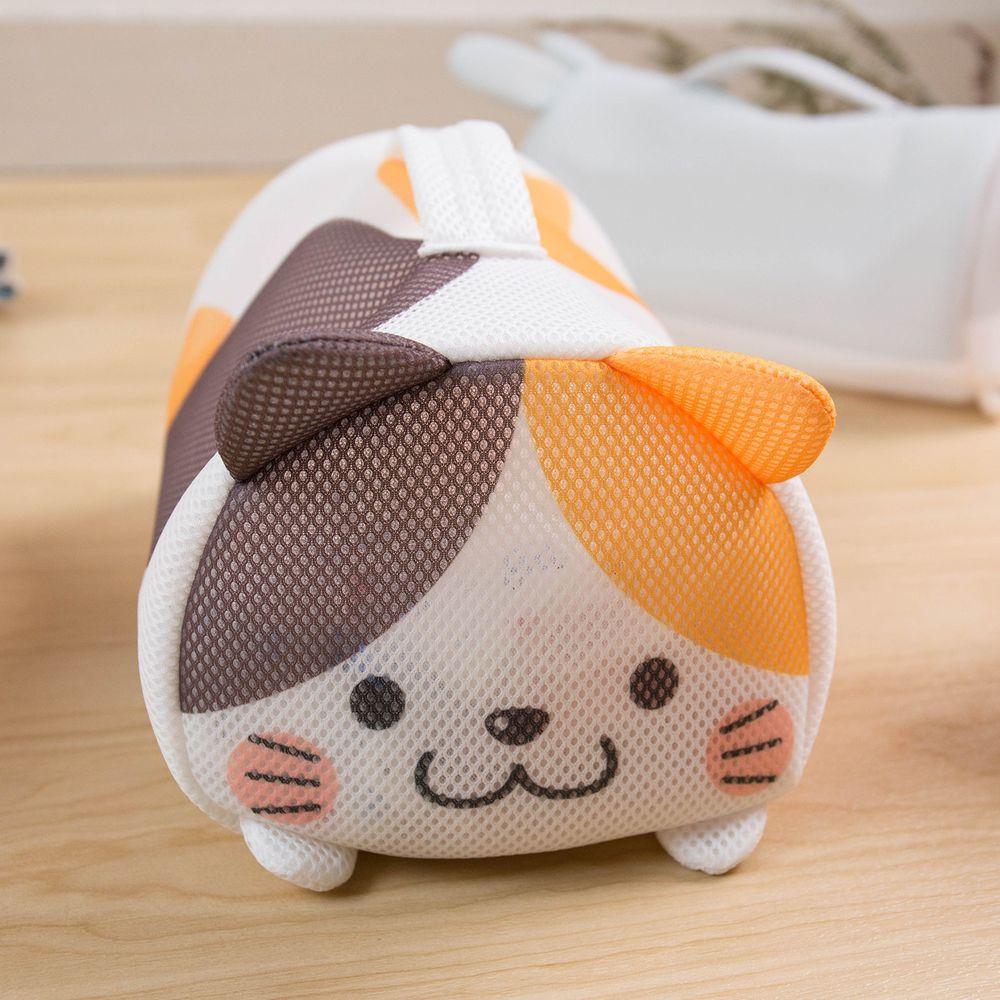 日本 SOWA 創和 - 可愛動物洗衣袋-花貓 (W26*H14*D16CM)