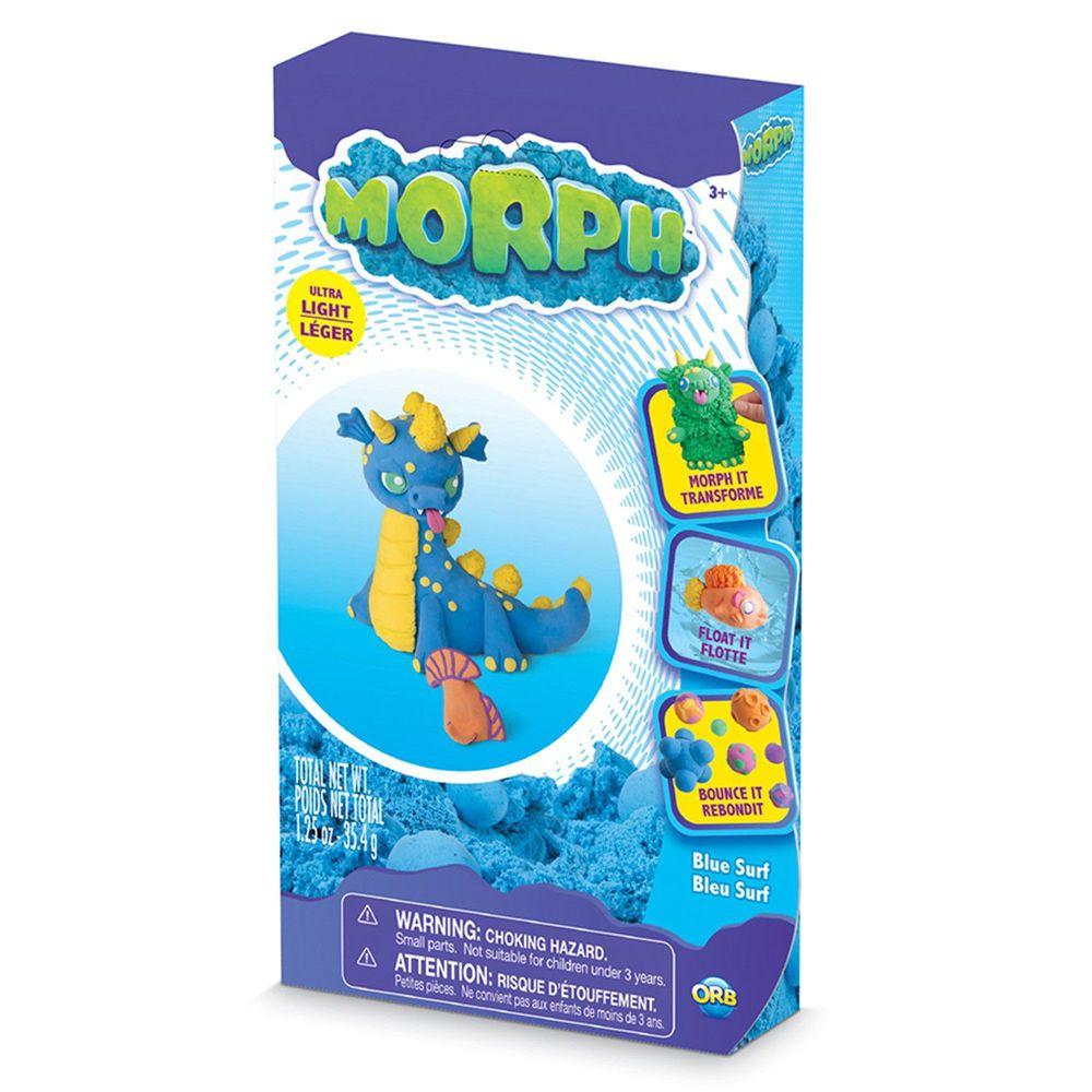 瑞典 MORPH - 魔塑黏土-藍 (M)-35.4g