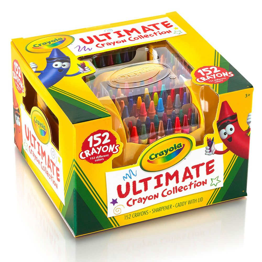Crayola繪兒樂 - 彩色蠟筆152色(盒裝)