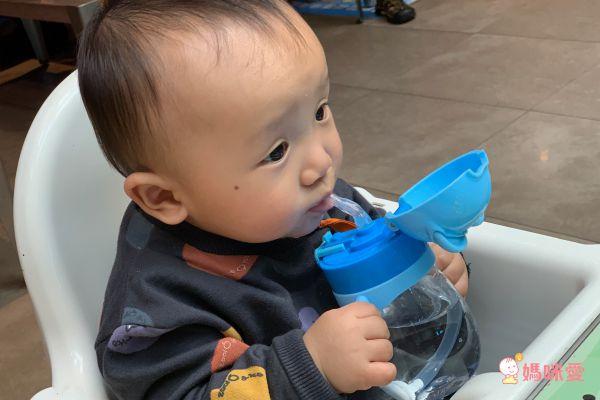 BABY TALK Tritan熊熊兩用水杯