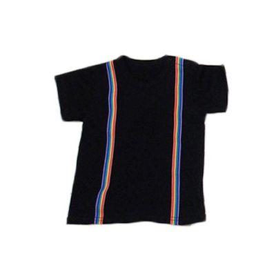 彩虹造型吊帶衣-黑