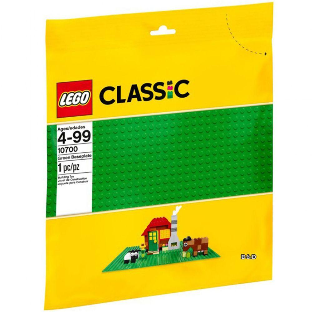 樂高 LEGO - 樂高 Classic 經典基本顆粒系列 - 綠色底板 10700-1pcs