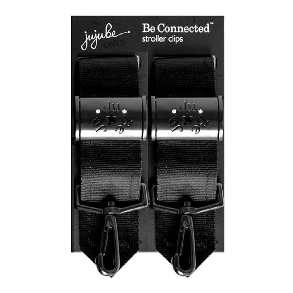美國 Ju-Ju-Be - BeConnected 推車掛勾-BeConnected-Onyx