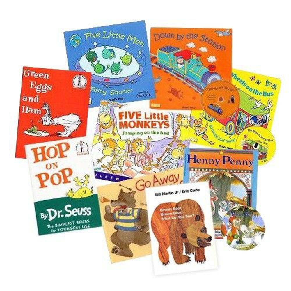 麥克兒童外文書店 - (免運)『用有聲書輕鬆聽出英語力』第1~4週書單