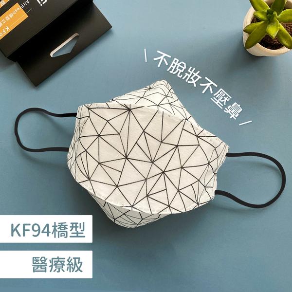 KF94熱賣!STYLEi 橋型醫療立體口罩 | 4層防護,不脫妝首選