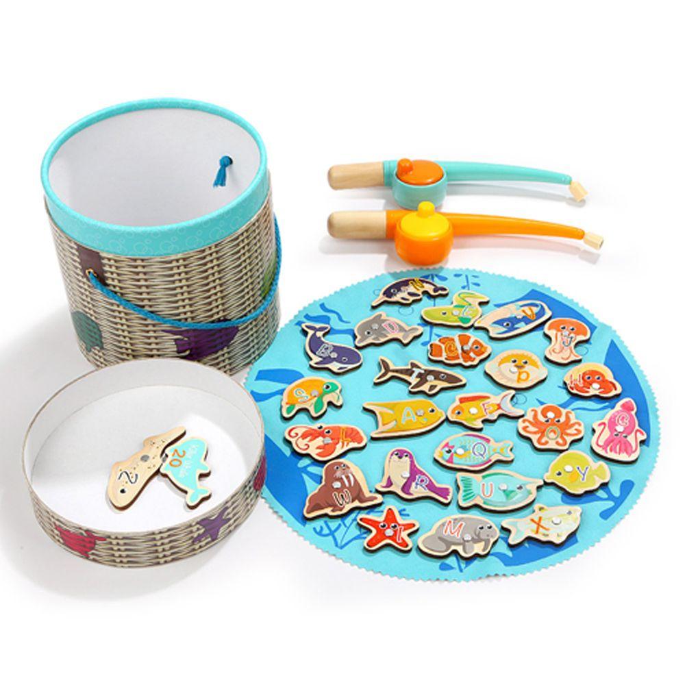 TOP BRIGHT特寶兒 - 快樂海洋釣魚組26pcs