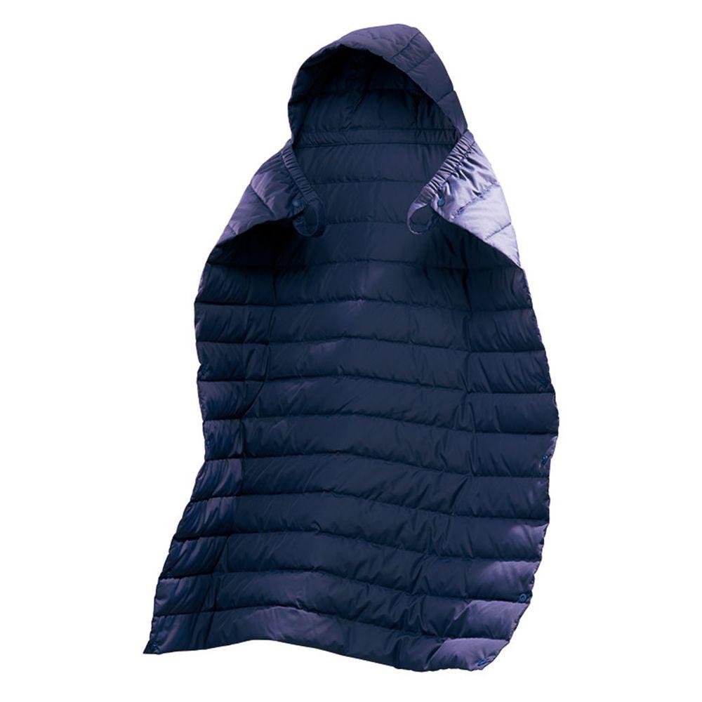 akachan honpo - 輕薄羽絨遮罩-深藍色 (76×70cm)