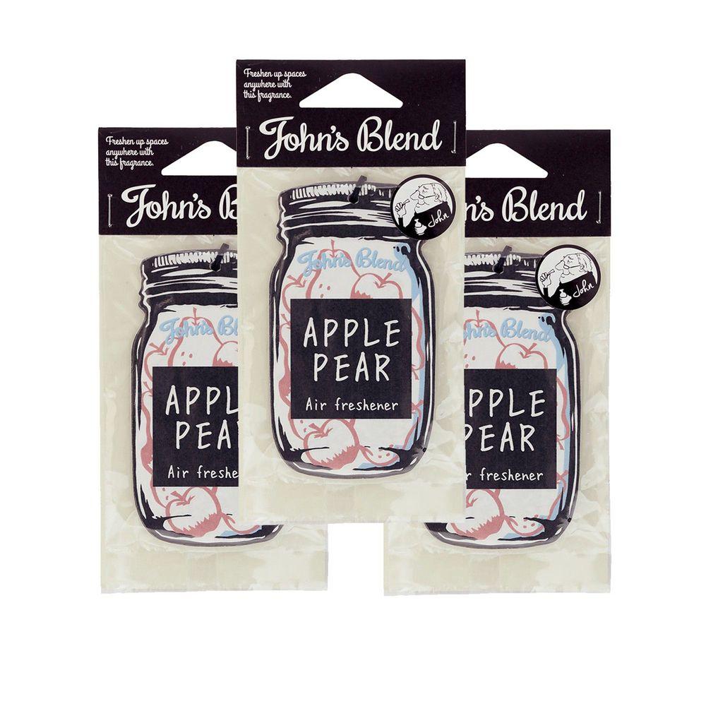 日本 John's Blend - 芳香片-蘋果梨*3
