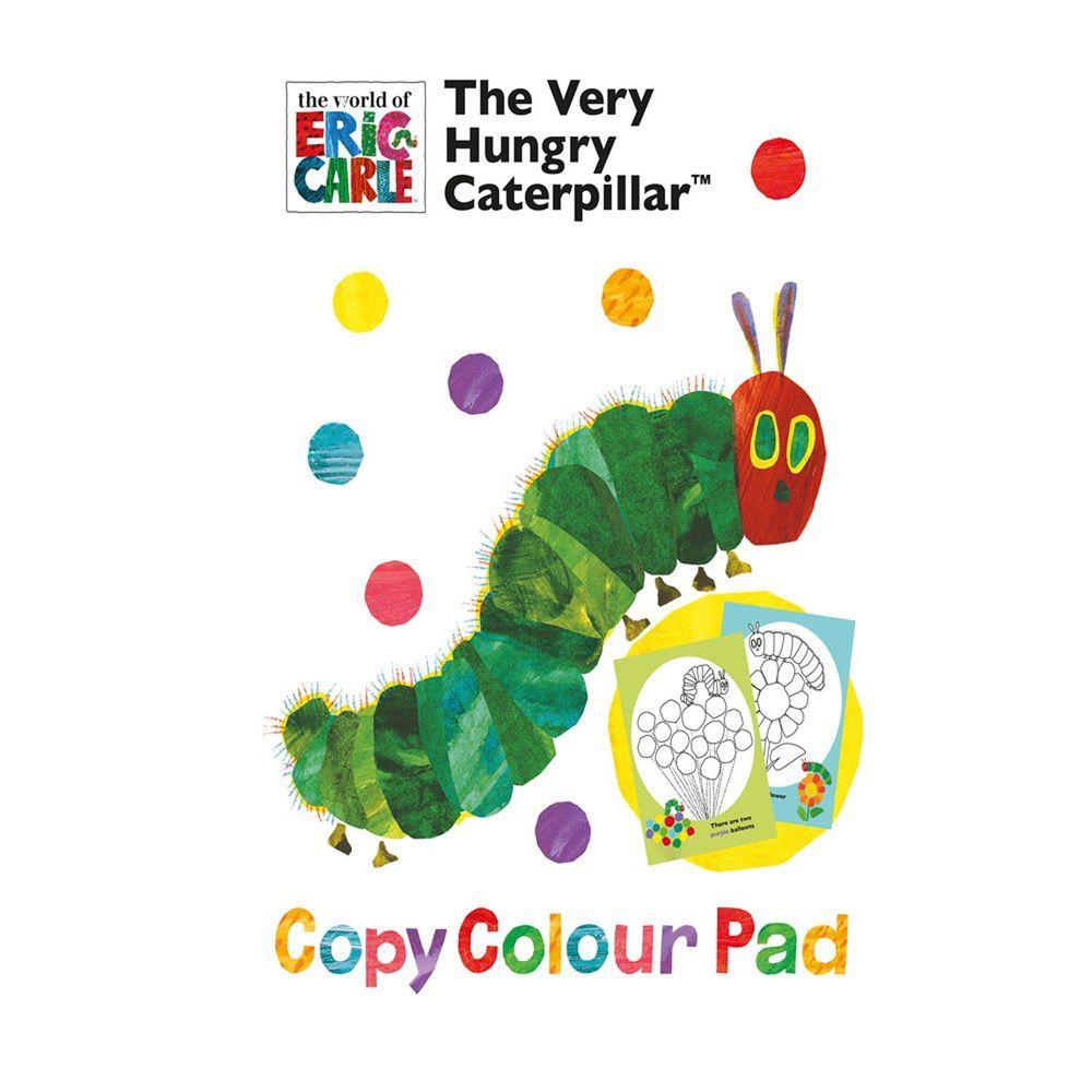 Alligator Products - 好餓的毛毛蟲畫畫(無筆) copy colour pad