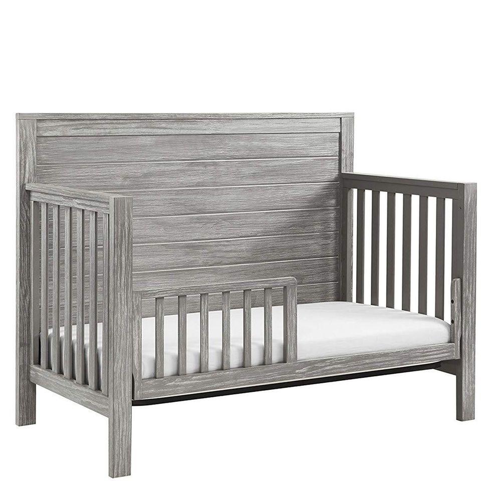 Rockland - 仿古泰勒4合1成長床-贈10cm床墊-灰色 (130X70)