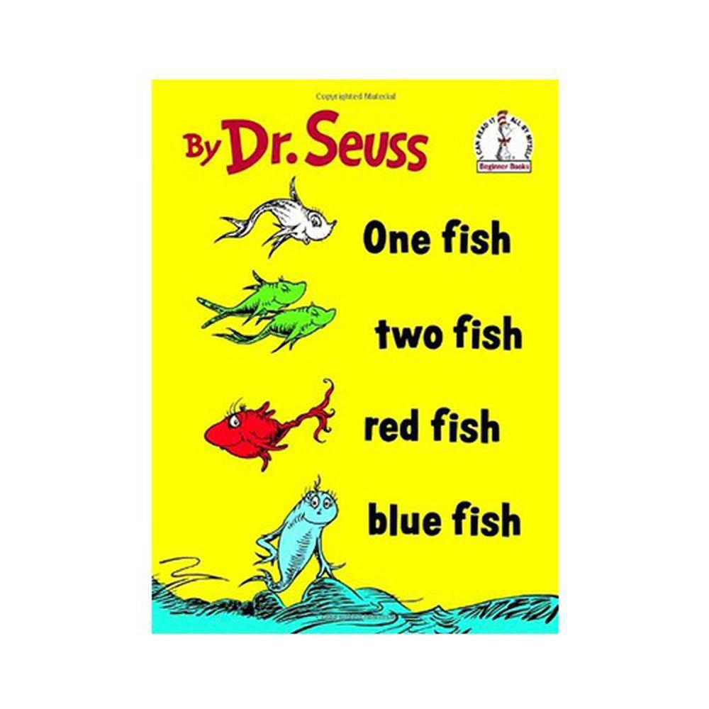 有聲書-ONE FISH TWO FISH/BKCD