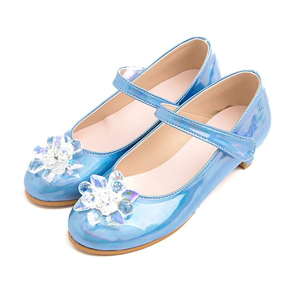 韓國 OZKIZ - 灰姑娘漆皮鞋(微跟)