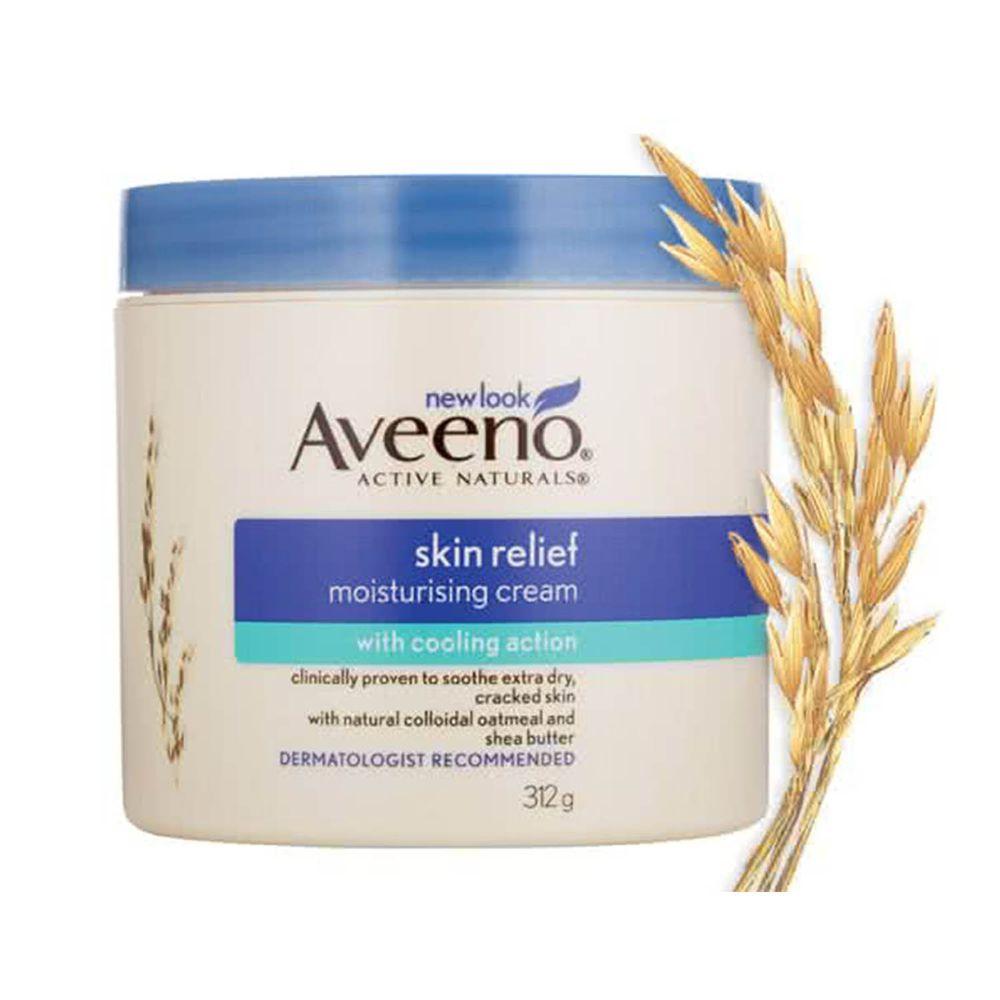 Aveeno 艾惟諾 - 天然燕麥高效舒緩潤膚霜-312g