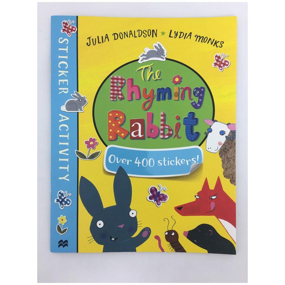 The Rhyming Rabbit Sticker Activity Book貼紙遊戲書