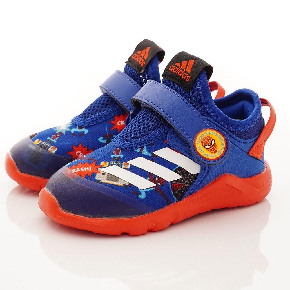 adidas - 機能童鞋-蜘蛛人聯名學步鞋款(寶寶段)-藍