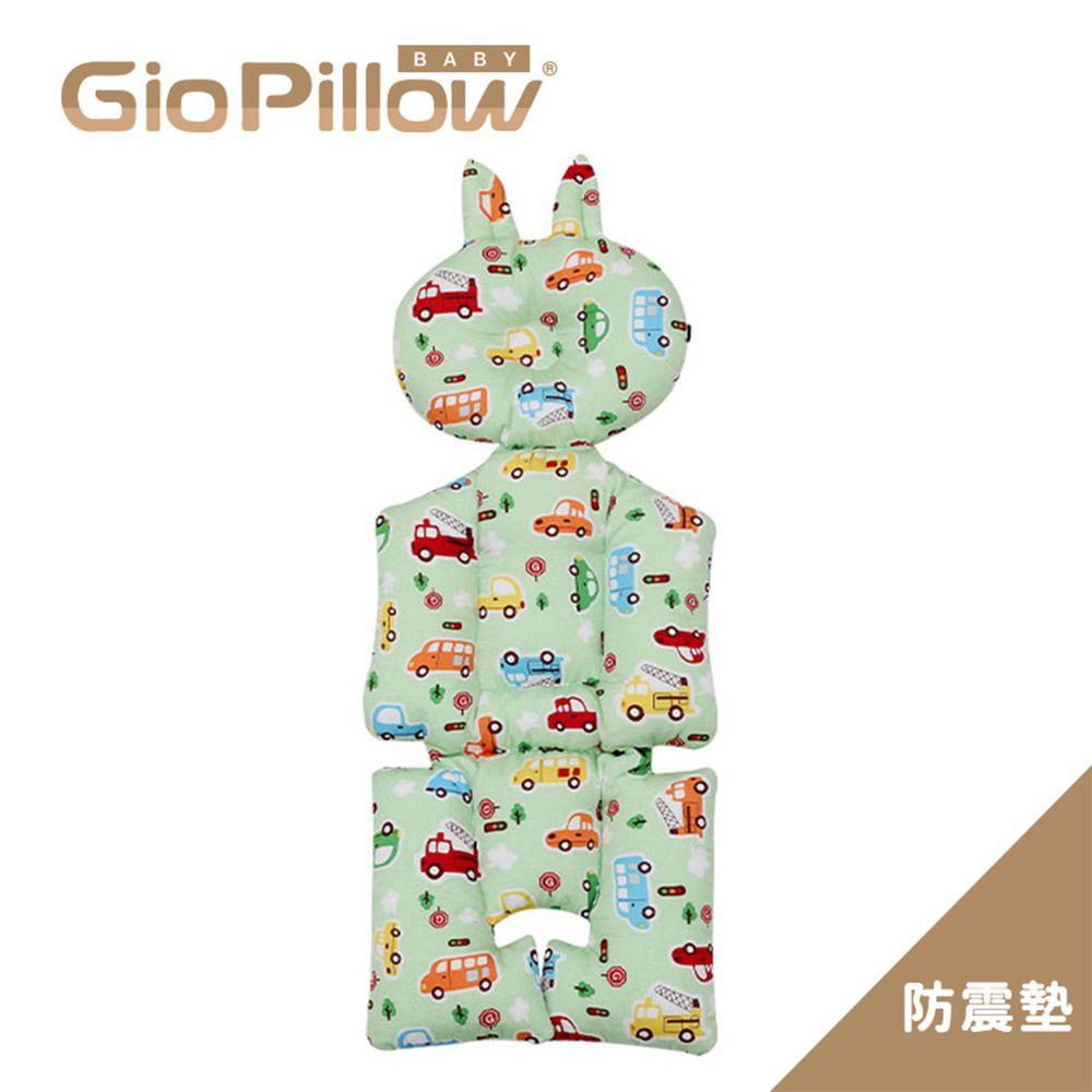 韓國 GIO Pillow - GIO雲感護頭型推車防震墊-趣味汽車