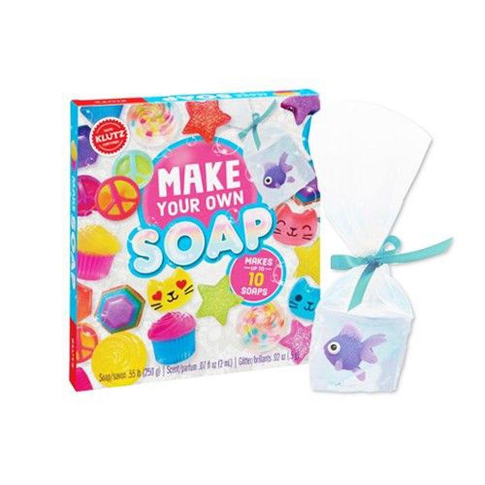 美國KLUTZ創意遊戲書 - make your own soap 手工造型肥皂
