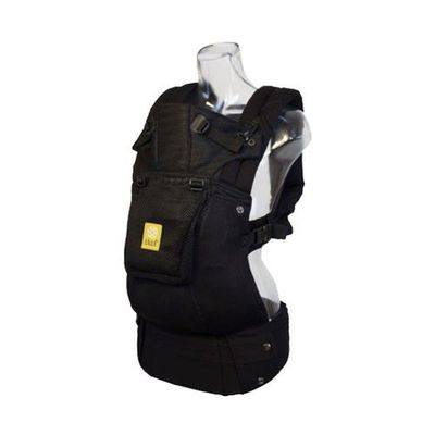 Complete 6-in-1 包覆型全齡背巾-Airflow-3D 透氣款-Black 黑色