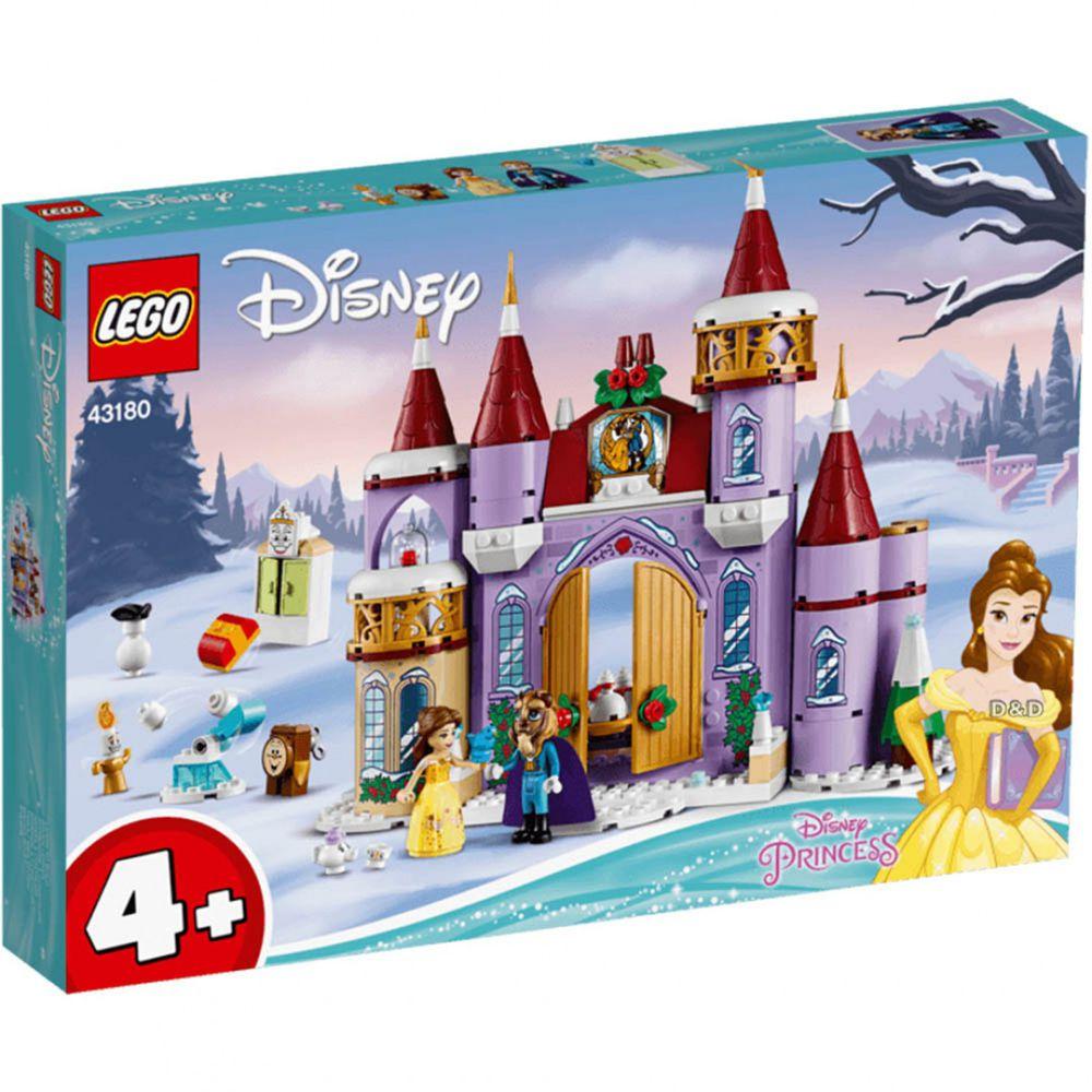 樂高 LEGO - 樂高積木 LEGO《 LT43180 》迪士尼公主系列 - 貝兒的城堡冬季慶典-238pcs