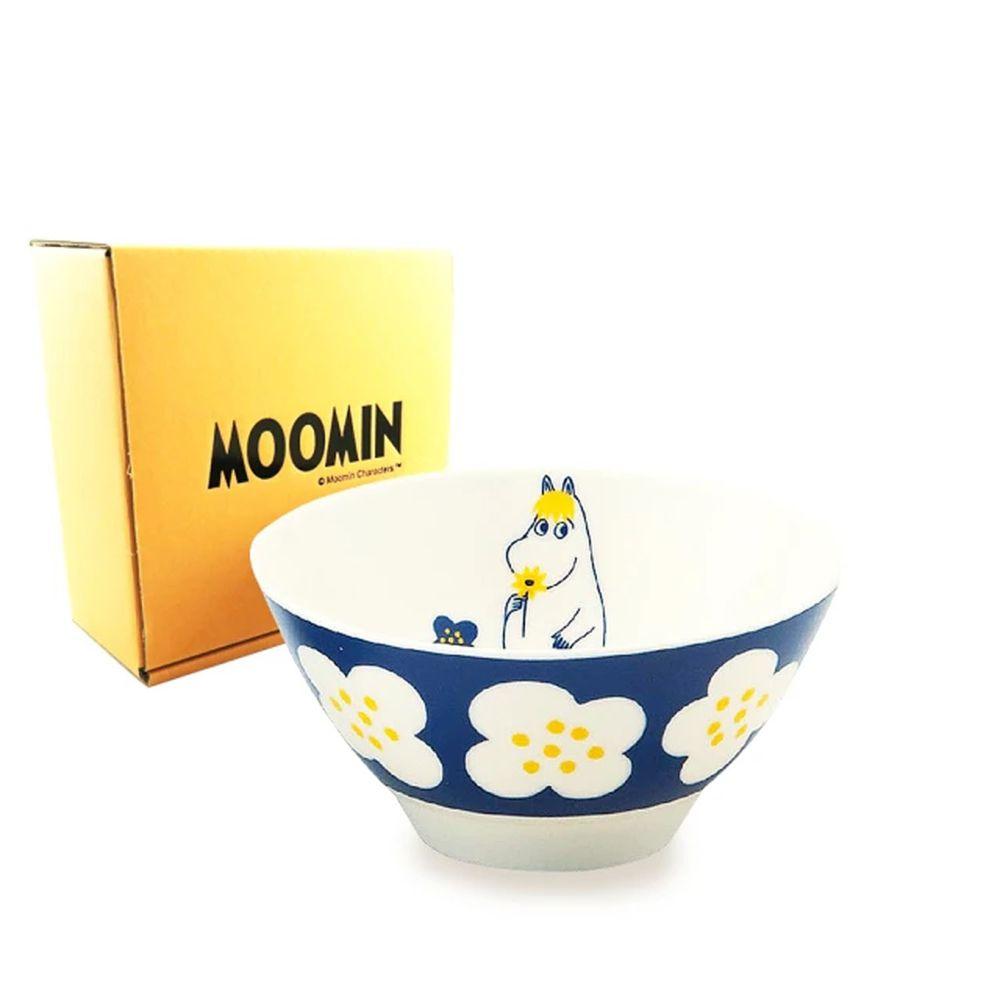 日本山加 yamaka - moomin 嚕嚕米彩繪陶瓷碗禮盒-MM034-312-1入