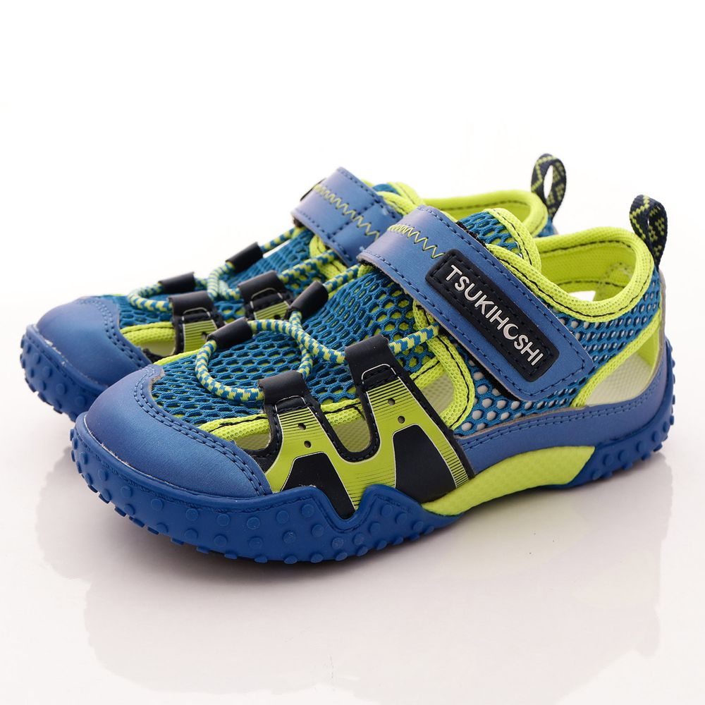 Moonstar日本月星 - 日本月星機能童鞋-2E速乾水涼鞋(中小童段)-藍