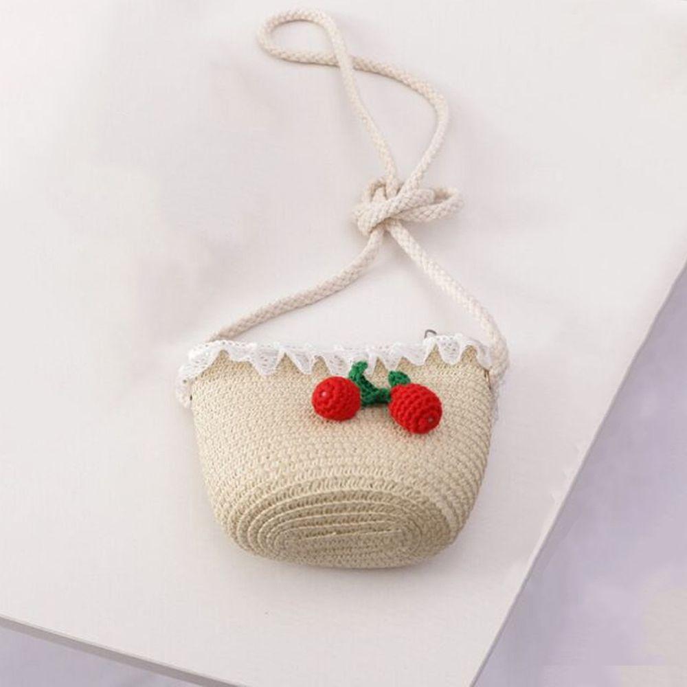 櫻桃小包-米色