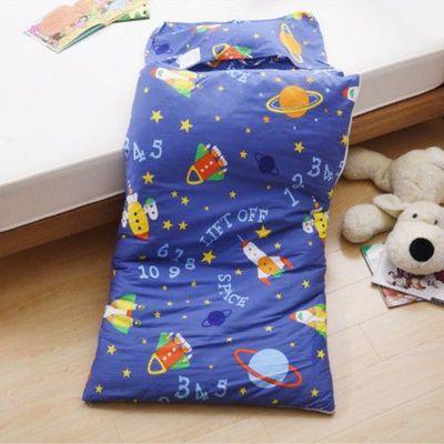 MIT純棉冬夏兩用兒童睡袋-星際探險