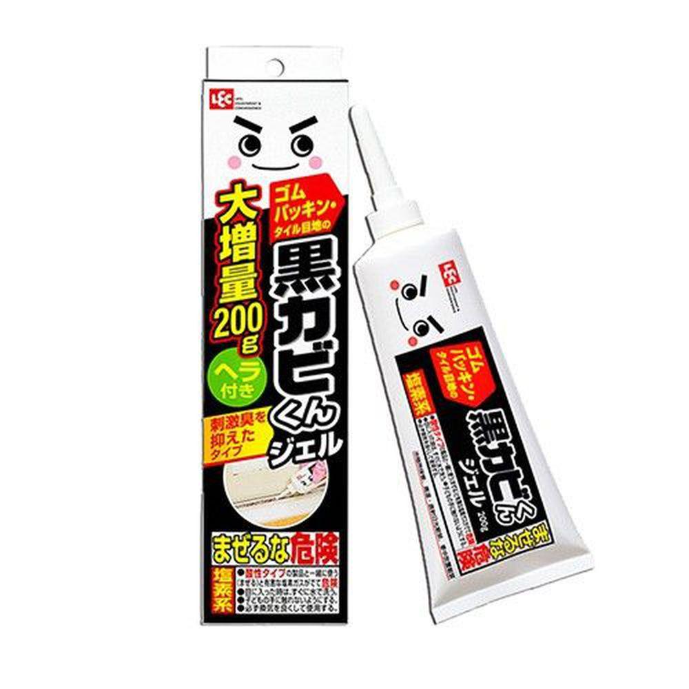 日本 LEC - 黑霉君除霉凝膠200g附刮板-200g x 1支