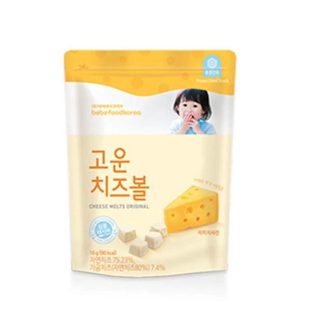 韓國bebefood寶寶福德 - 起司優格豆豆(起司原味)