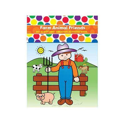 美國 Do A Dot Art - 點點畫冊-農場動物-16+3(雙面)頁
