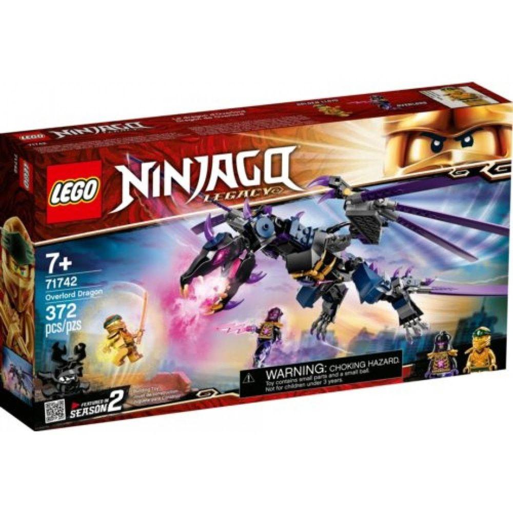 樂高 LEGO - 樂高積木 LEGO《 LT71742 》NINJAGO 旋風忍者系列 - 龍與黑暗島主-372pcs