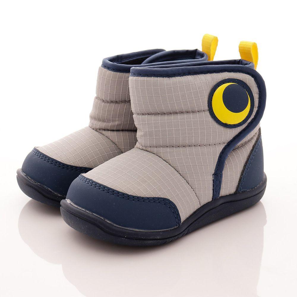 Moonstar日本月星 - 日本月星機能童鞋-點點短靴款(中小童段)-灰