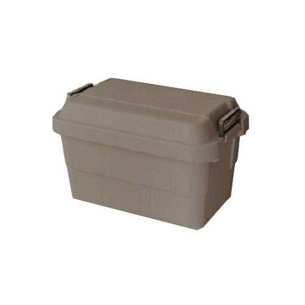 日本 RISU - TRUNK CARGO 多功能環保耐重收納箱-舒服棕色-50L