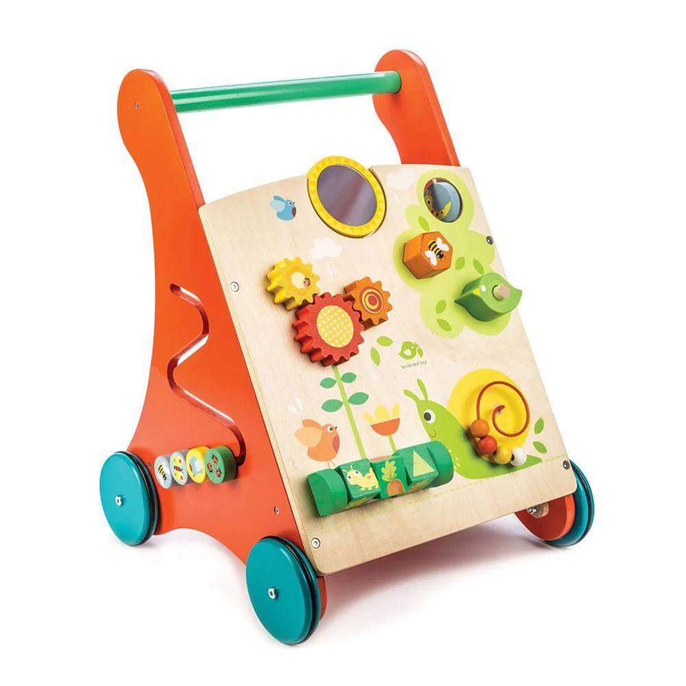 美國 Tender Leaf Toys - 多功能益智學步車