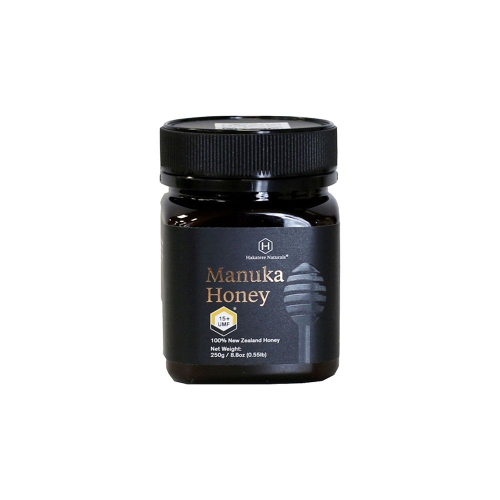 Hakatere Naturals - 紐西蘭國寶-麥蘆卡蜂蜜-UMF15+-250g/罐