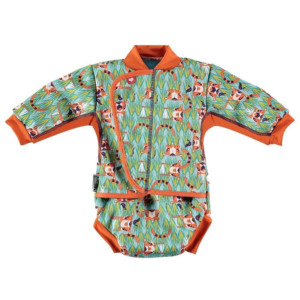 英國Pop-in - 嬰兒抗UV連身保暖泳衣-奧斯虎