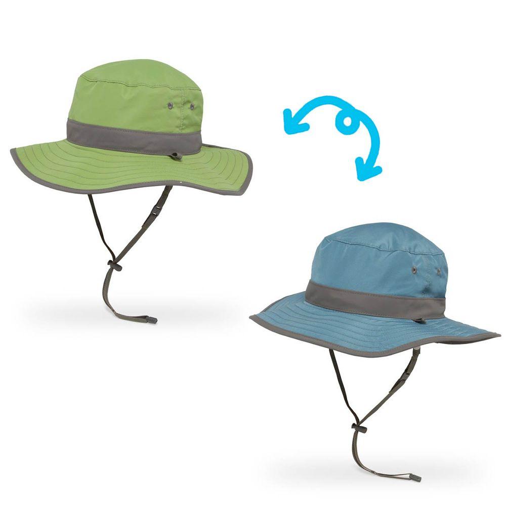 Sunday Afternoons - 兒童防曬帽-兒童抗UV雙面圓盤帽Kids Clear Creek Boonie-青石