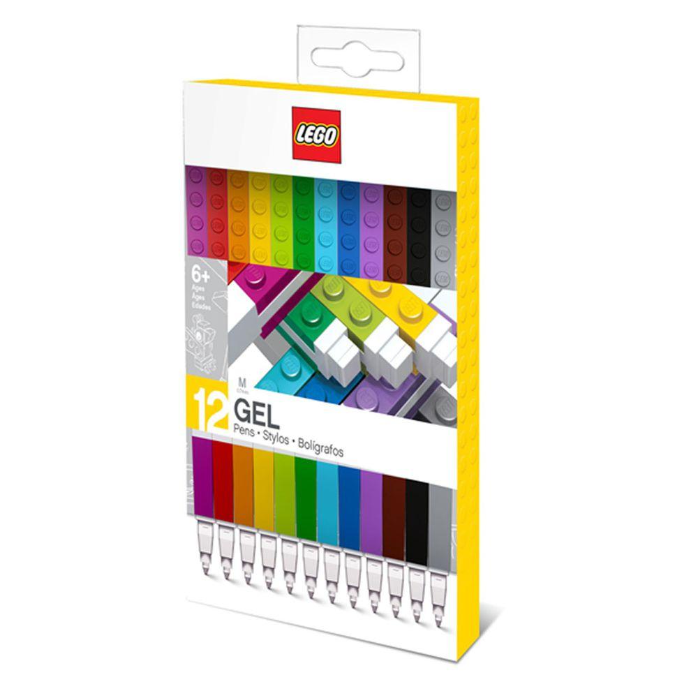 樂高 LEGO - LEGO積木原子筆(12入)-長15.8公分