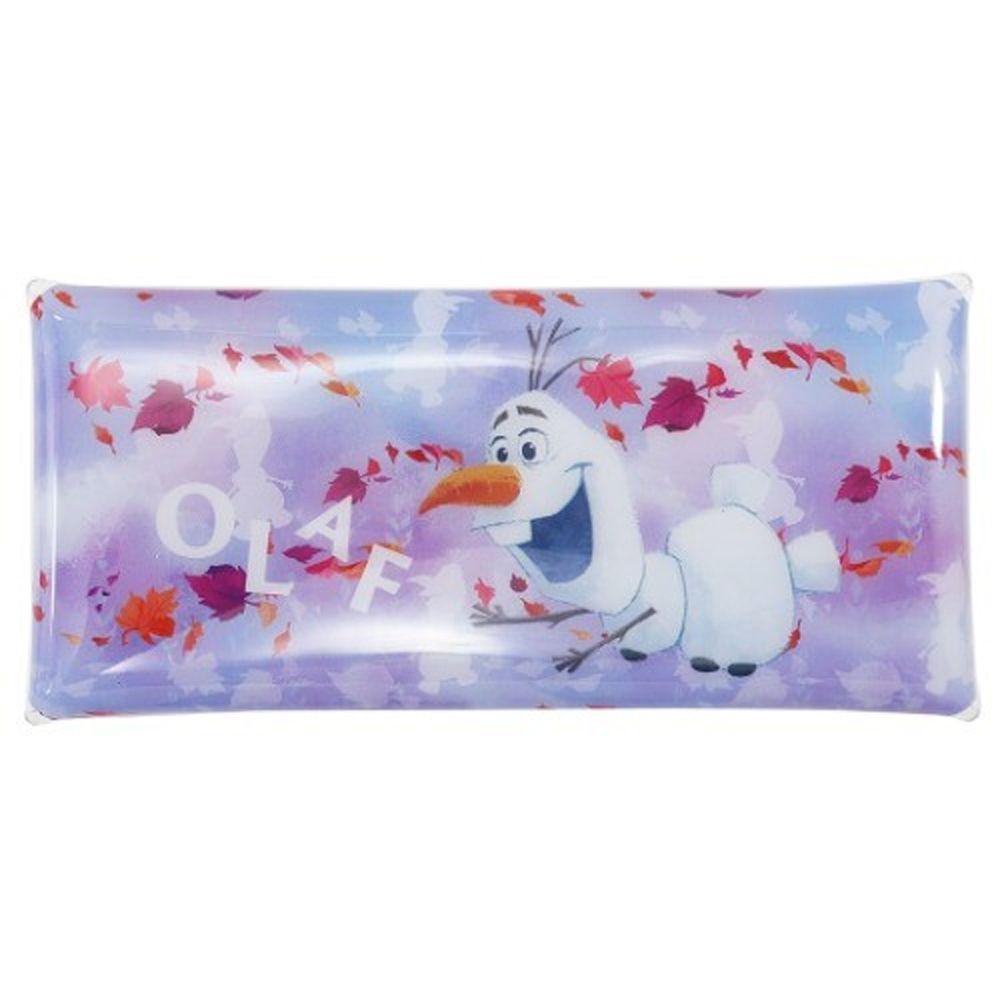 日本代購 - 釦式透明筆袋/收納袋-雪寶與風精靈 (20x9.5cm)