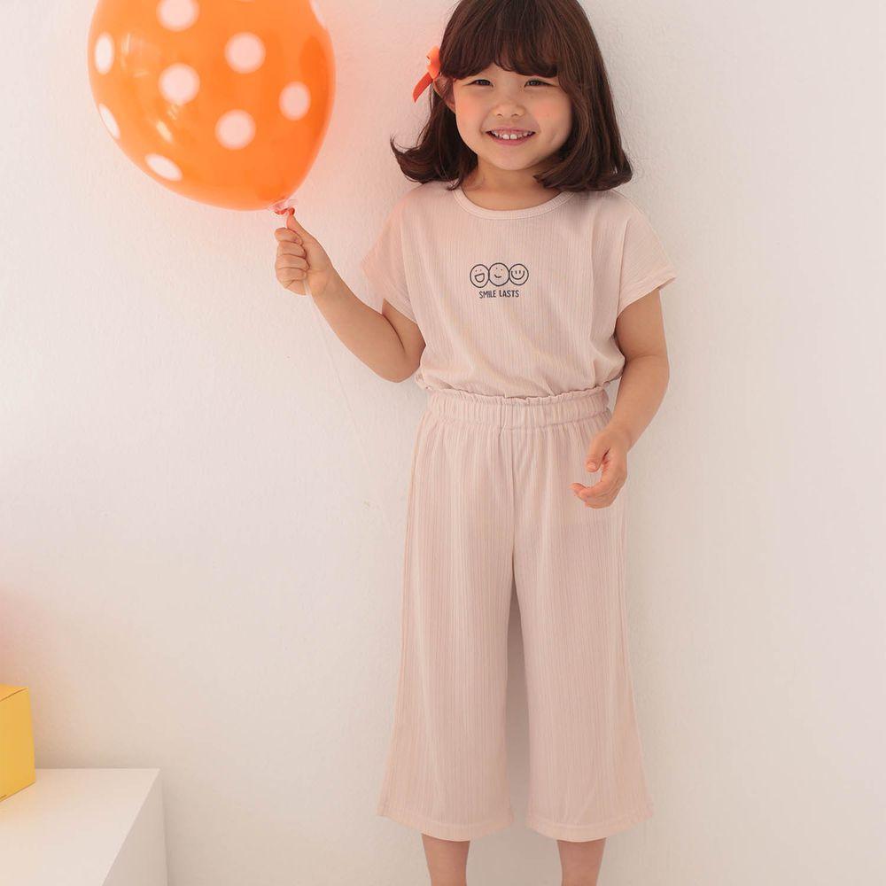韓國 Dalla - 三個笑臉涼感套裝-杏