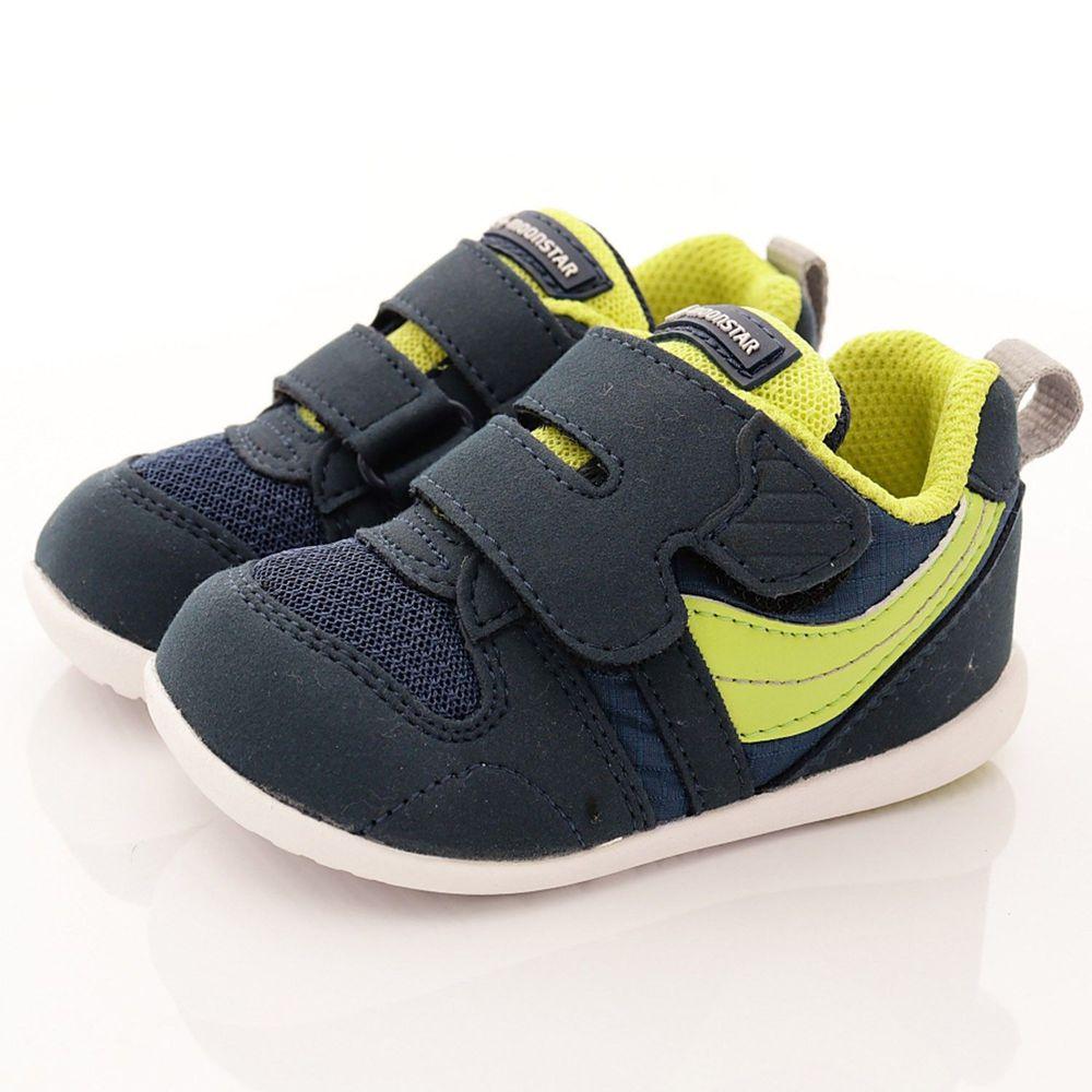 Moonstar日本月星 - 機能童鞋-HI系列2E學步鞋(寶寶段)-深藍