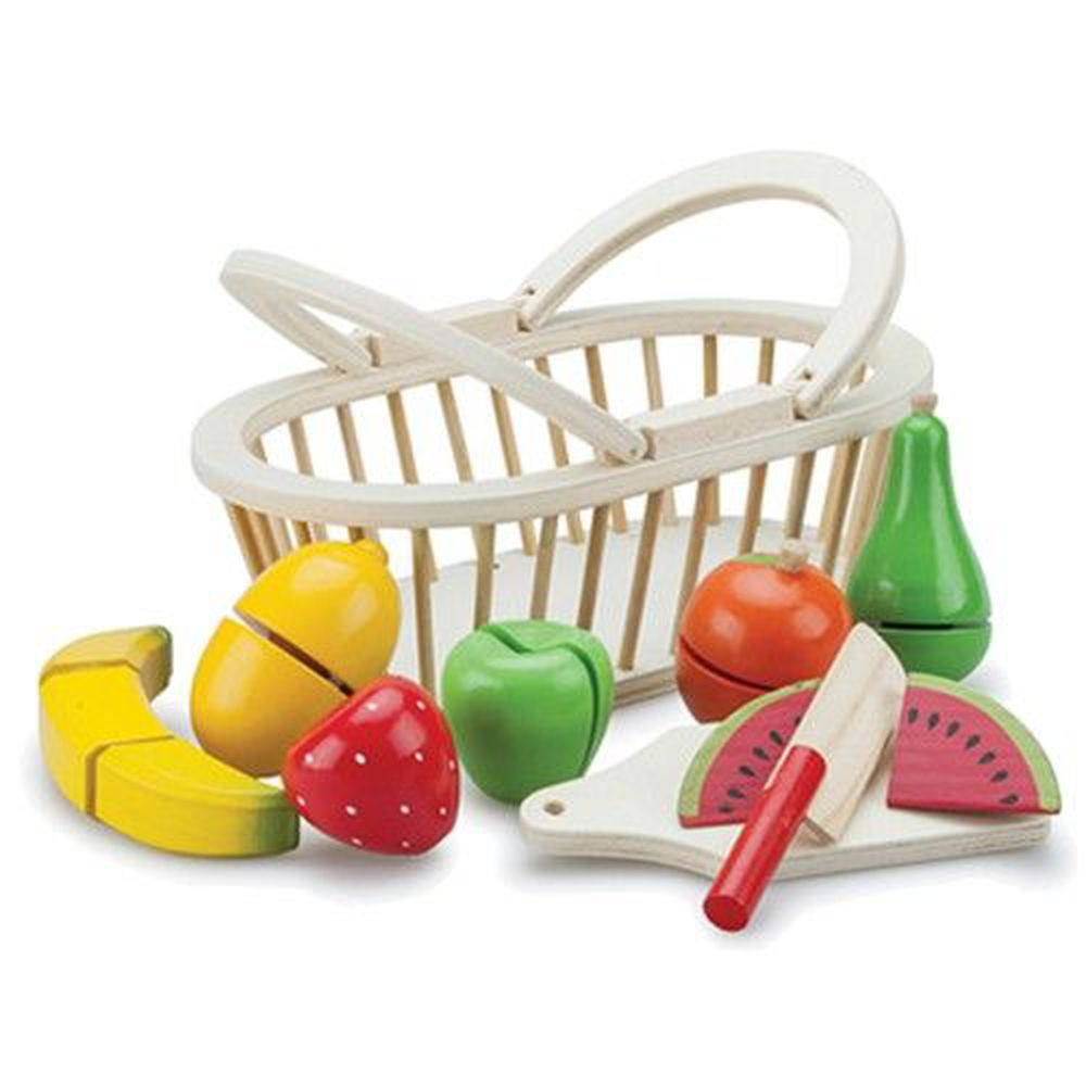 荷蘭 New Classic Toys - 水果籃切切樂